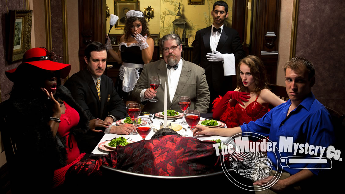 Los Angeles murder mystery party themes